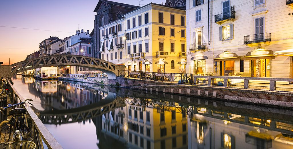 Naviglio Grande de Milano