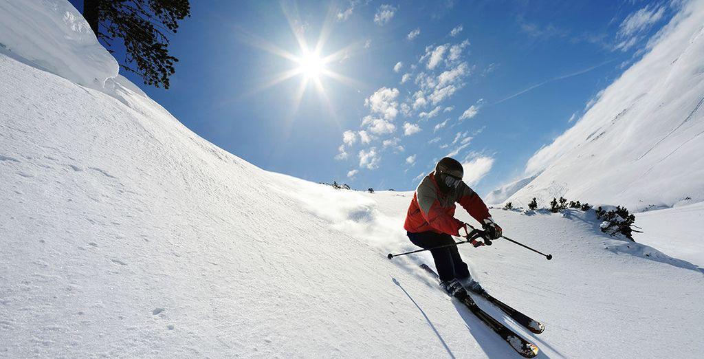 le piste da sci più belle delle Alpi saranno a portata di mano