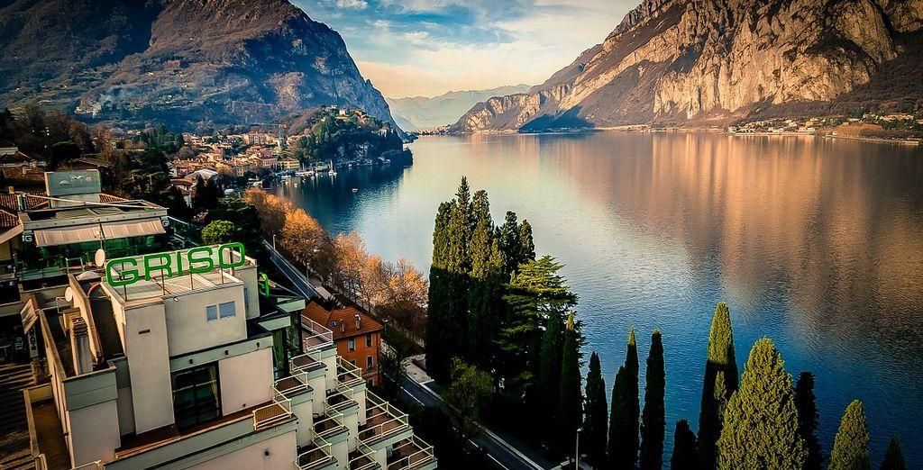 Godetevi la vista sul lago da un lussuoso hotel di Como
