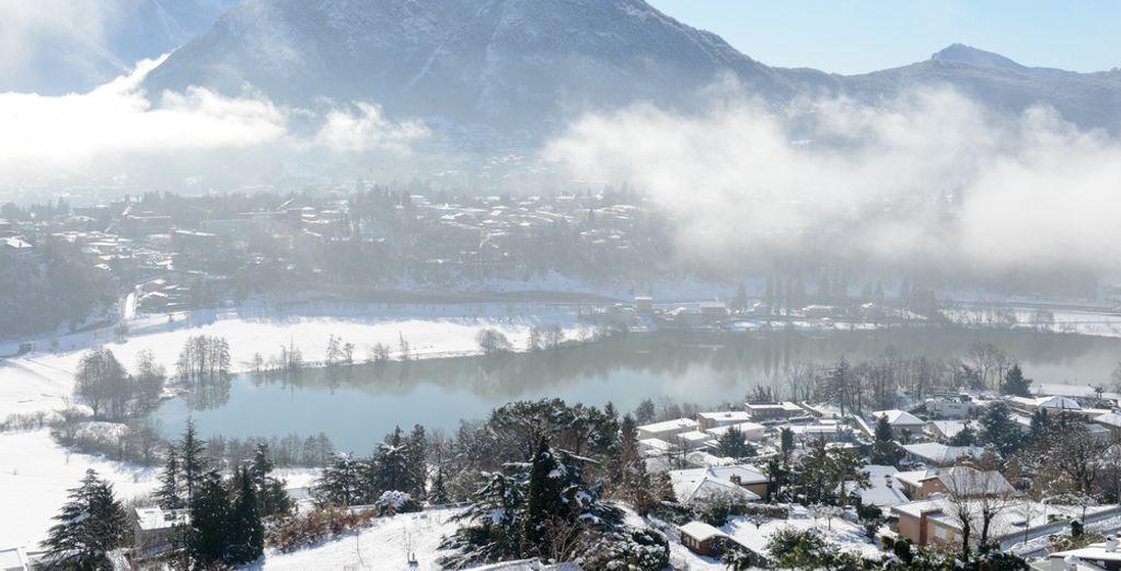 Lo splendido Lago di Lugano vi attende