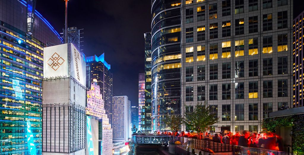 Dove potrete trascorrere una serata la sua terrazza panoramica con viste su Times Square