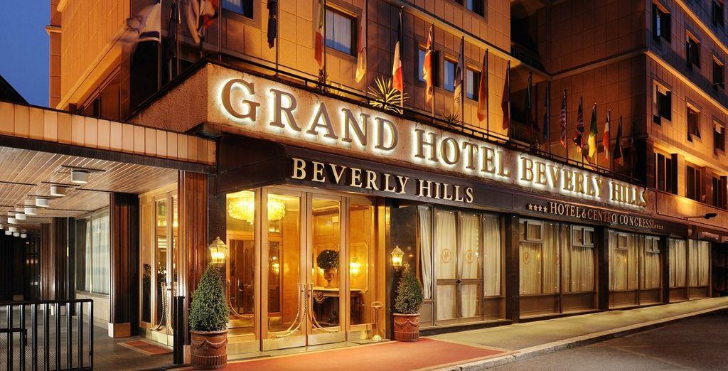 benvenuti all'Hotel Beverly Hills Rome 4*
