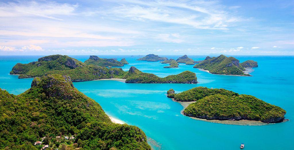 Vi sposterete poi verso la splendida località di Koh Samui