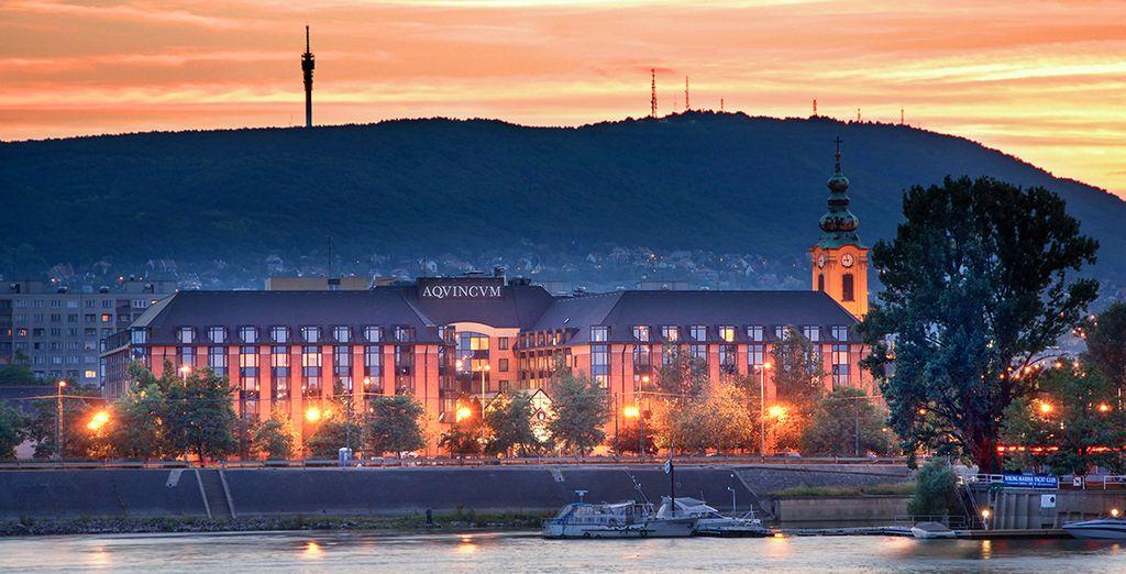 Regalatevi una vacanza in un elegante hotel sulla Riva del Danubio