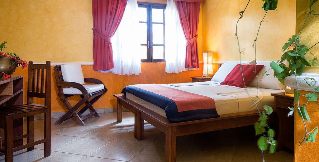 Dove potrete riposarvi in una confortevole camera