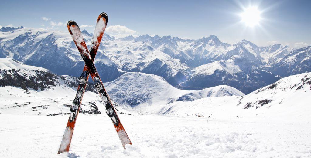 e per raggiungere le piste da scii di Pila