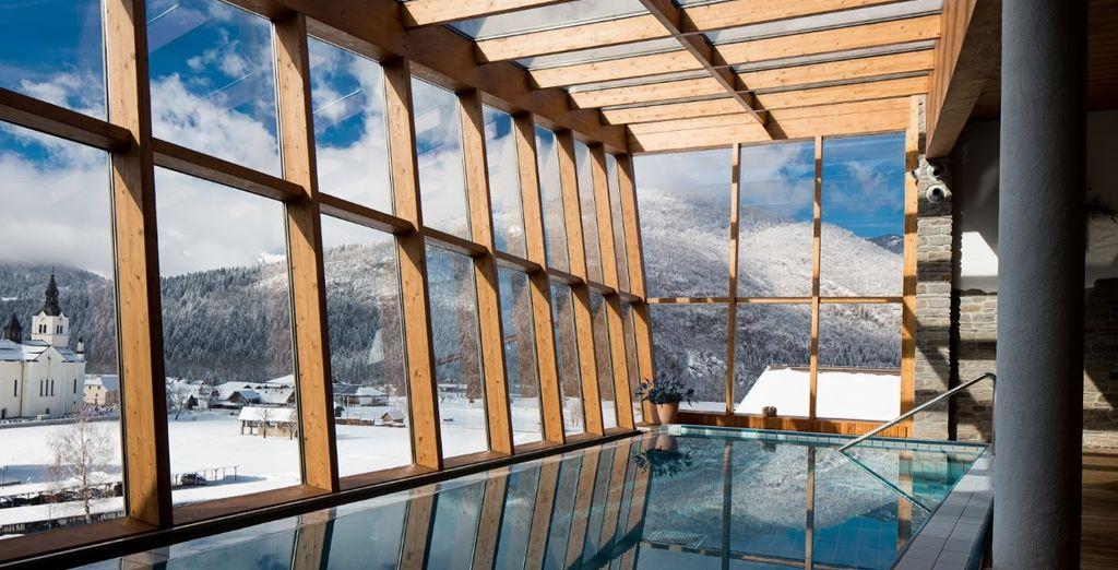 immersi nel cuore delle Alpi e con splendidi paesaggi a fare da cornice