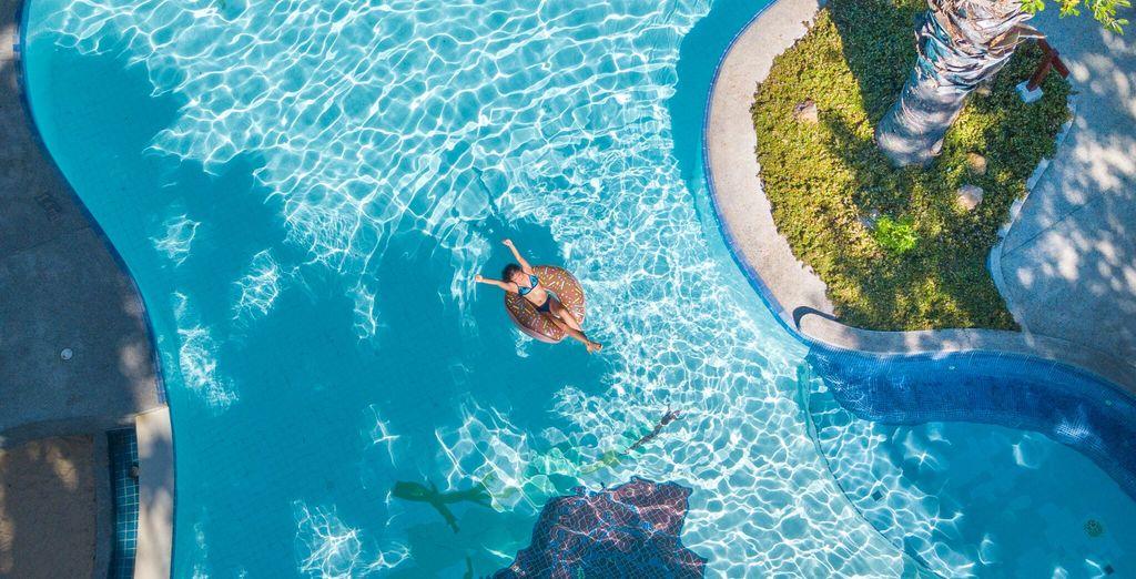 Tuffatevi nelle sue acque per godere di una nuotata rigenerante
