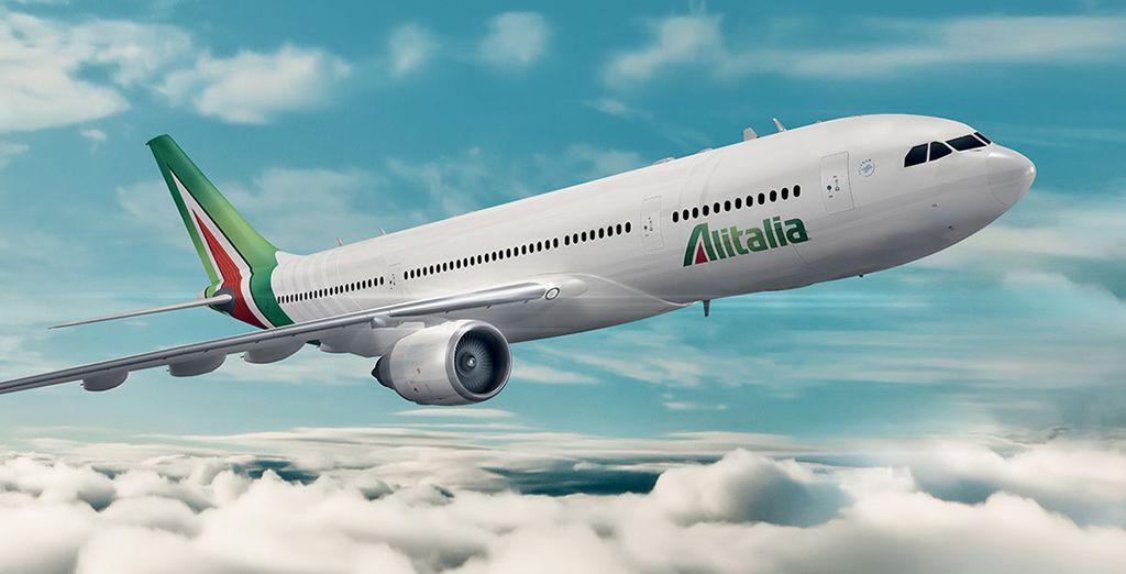 Raggiungete le Maldive con i nuovi voli diretti Alitalia da Roma.