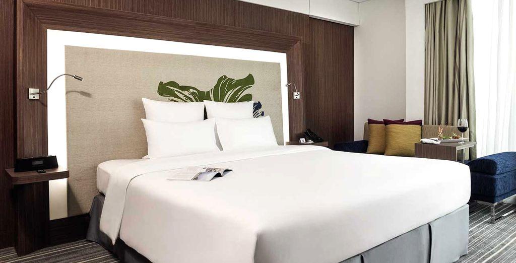 Il Novotel Saigon Centre Hotel di Ho Chi Minh vi offre sistemazione in Camera Superior