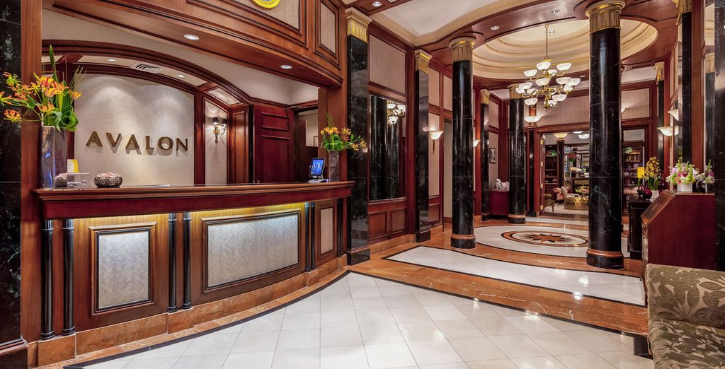 L'affascinante The Avalon Hotel 4* è pronto ad aprirvi le sue porte