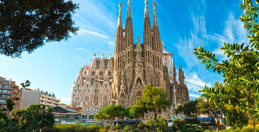 E ammirate la maestosità della Sagrada Familia