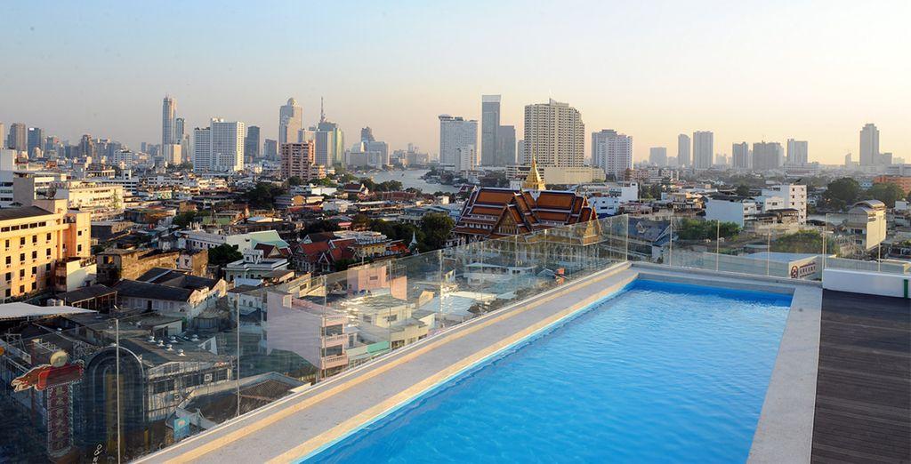 Ammirerete viste magiche sullo skyline di Bangkok che vi sorprenderanno