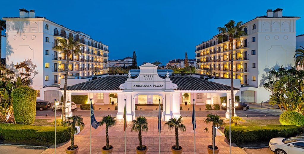 Waar het H10 Andalucía Plaza 4* de ideale uitvalsbasis is