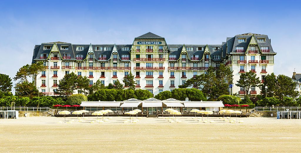 Welkom bij Hôtel Barrière L'Hermitage La Baule 5* !
