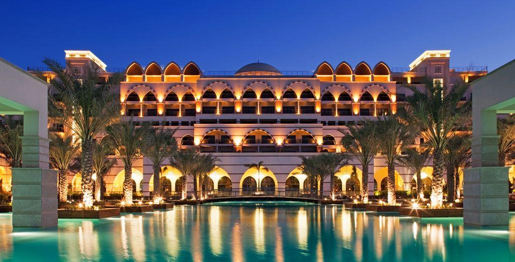 Waar u verblijft in het luxueuze Jumeirah Zabeel Saray
