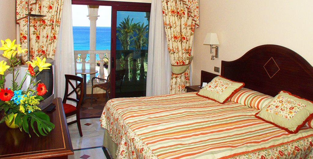 Of ervaart u liever de charme en de voordelen van de Romantic kamer?