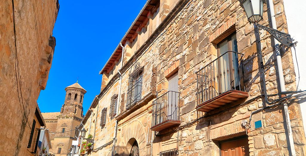 Baeza en Ubeda zijn het beste voorbeeld van de Andalusische Renaissance