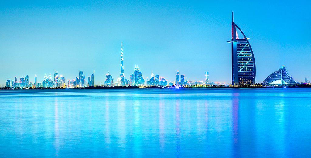 U kan ook kiezen voor een tussenstop voor 3 nachten in Dubai