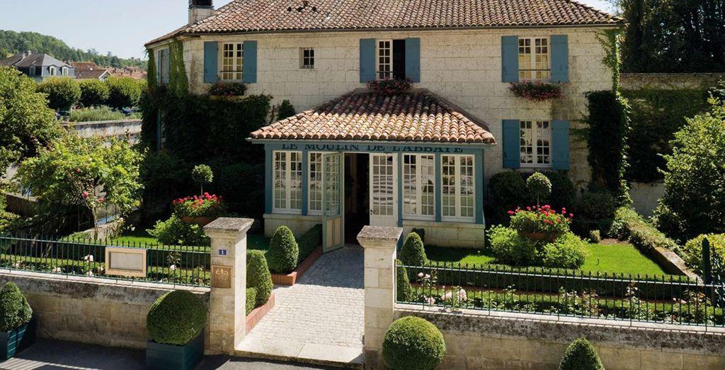 Ontdekt u het hotel Le Moulin de l'Abbaye