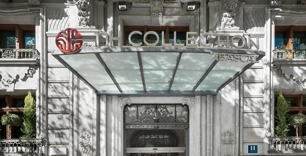 Wij presenteren u: NH Collection Abascal 4*