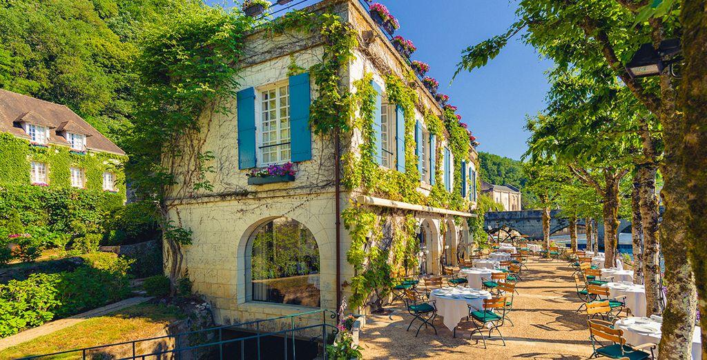 In één van de mooiste dorpjes van de Périgord