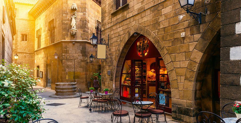 Gelegen in hartje Barcelona