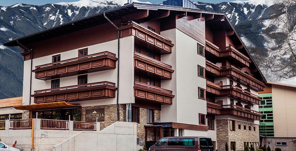 ...In het fantastische Hotel Victoria Kaprun 4*