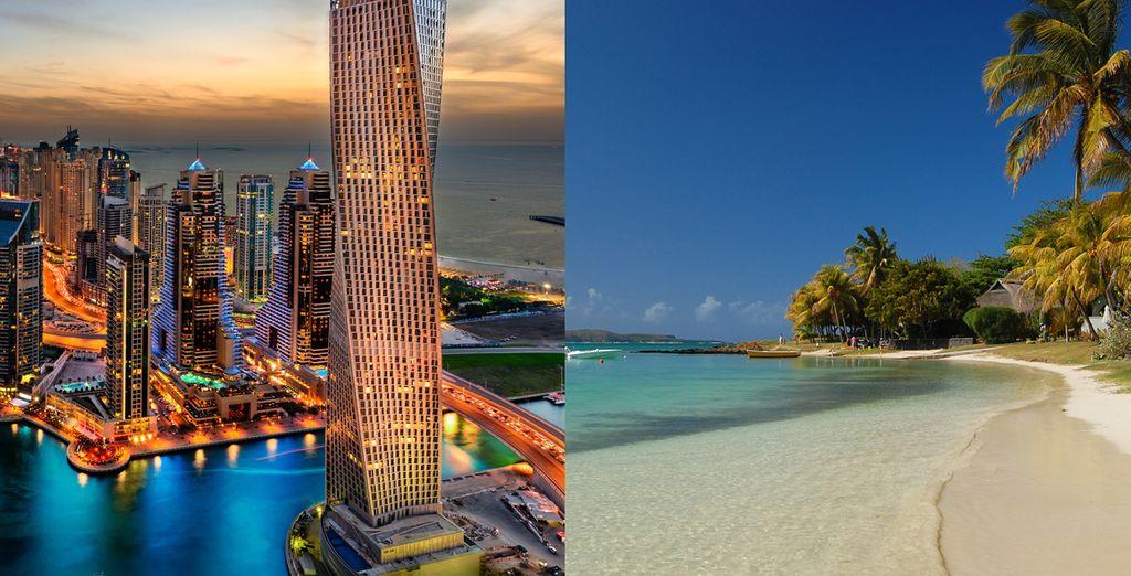Gun uzelf een prachtige reis naar Dubai en Mauritius