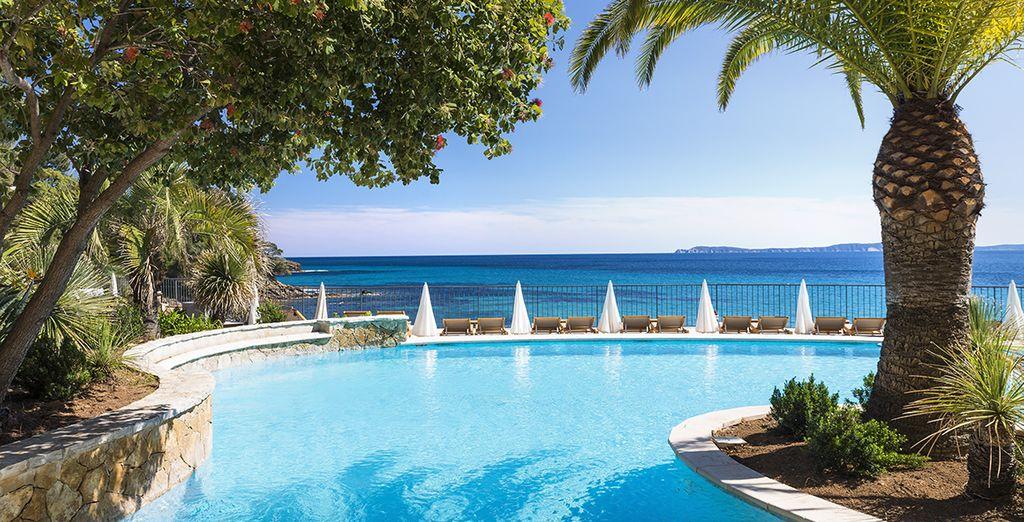 Welkom in Hotel Le Bailli de Suffren aan de Golf van Saint-Tropez
