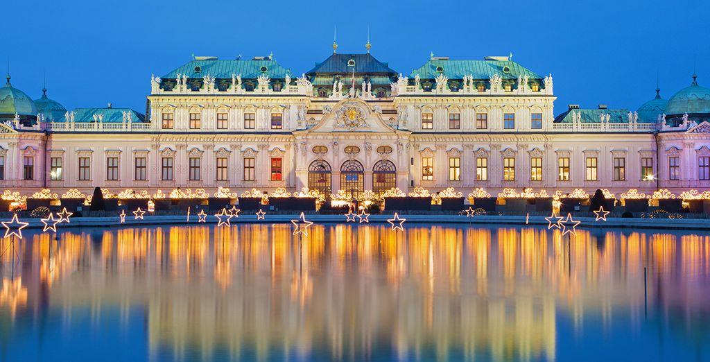 Geniet van een geweldige locatie vlakbij het Slot Belvedere