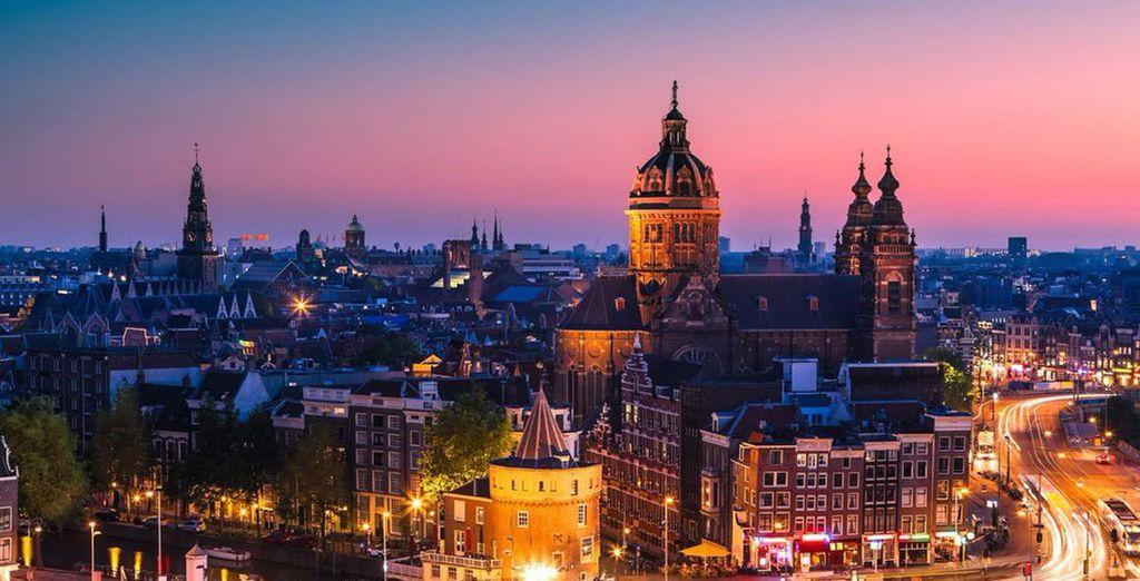 Wij wensen u een fijn verblijf in Amsterdam!