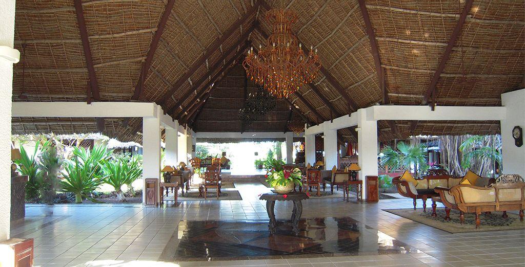 Vanaf uw eerste stappen in het hotel, zult u genieten van de schoonheid van de plaatsen