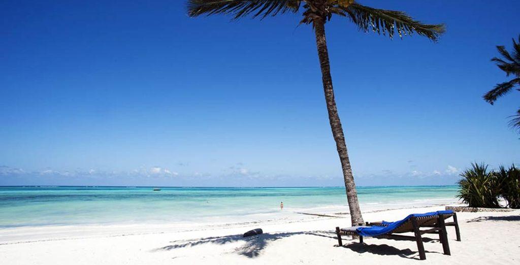 Ligbed op het strand ?