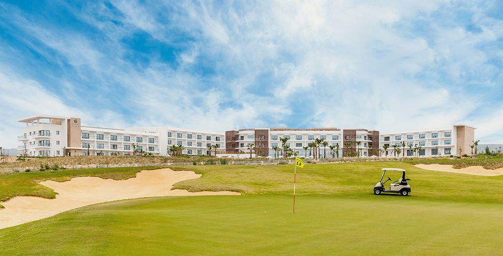 Een echt paradijs voor golfers