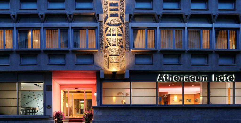 Een comfortabel hotel in het centrum van de stad