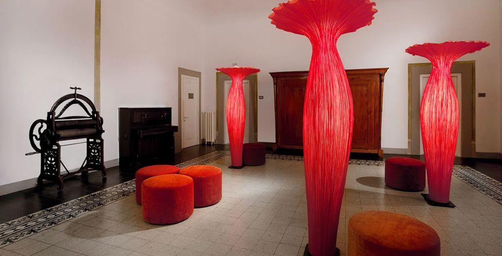 U zult genieten in het NH Collection Firenze Porta Rossa 4*