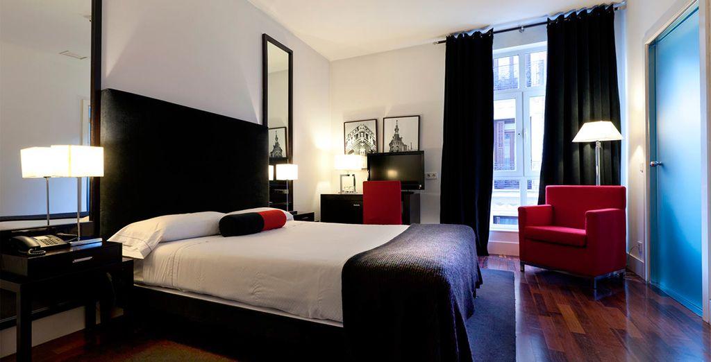 Een design hotel in het centrum van Madrid