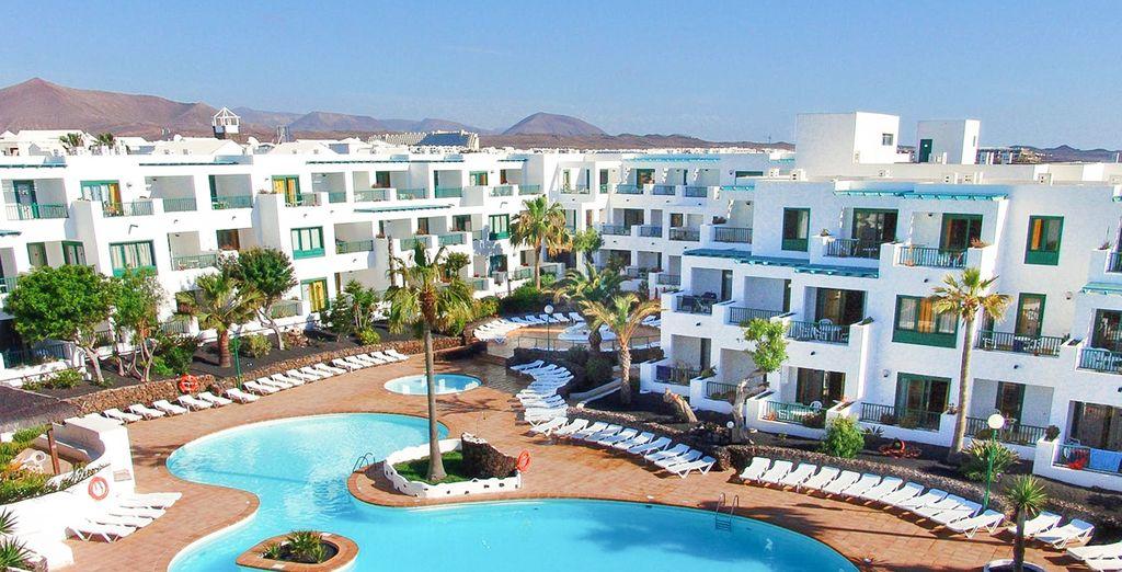 Het hotel beschikt over een verwarmd zwembad