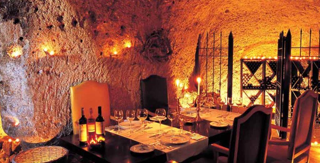 Proef de beste wijnen van het gebied