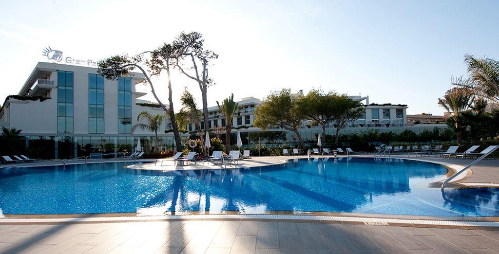 Welkom in het Gran Palas Hotel 5*!