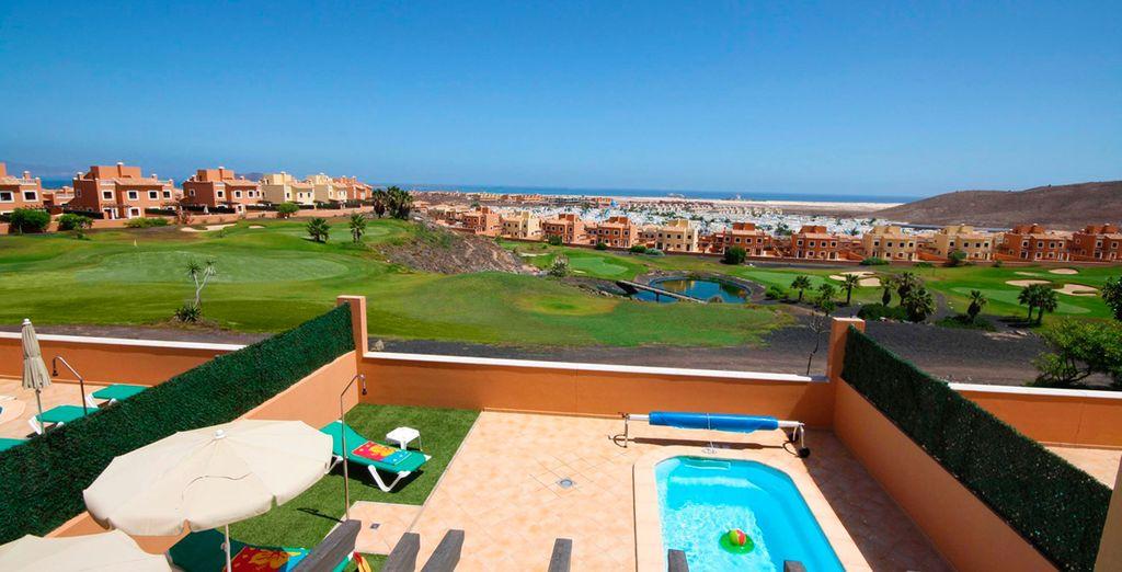 Prachtige villa's omringd door golfbanen