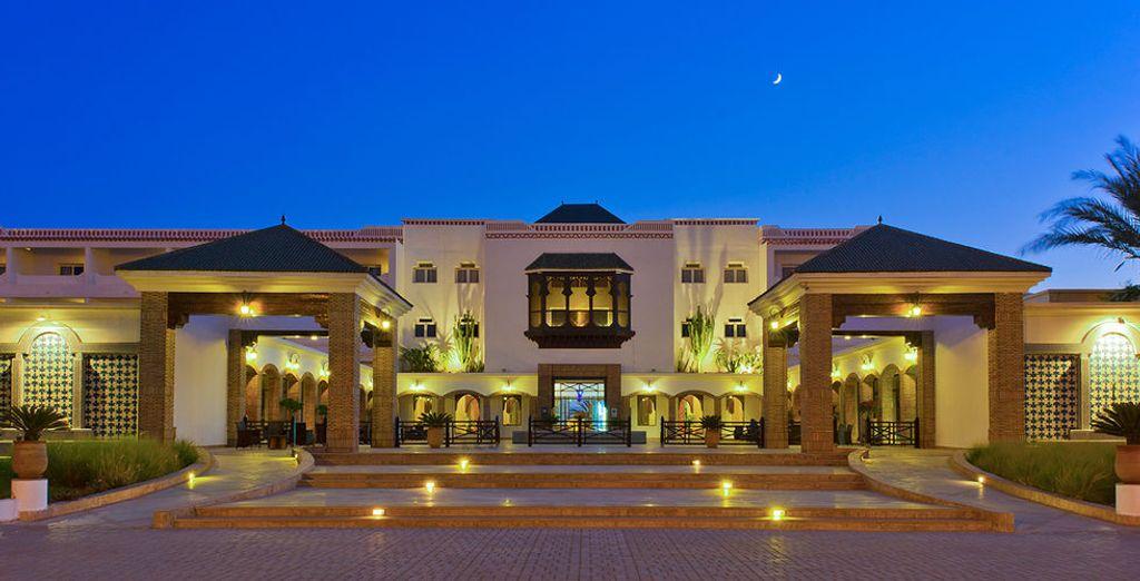 Een modern resort