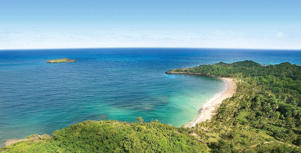 In het hart van de prachtige natuur van Samana Bay
