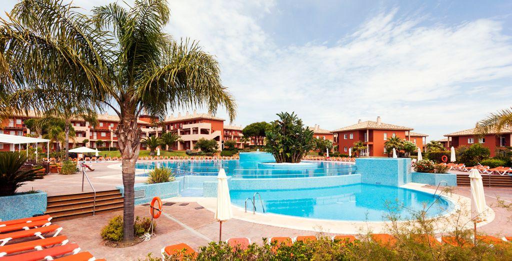 Met moderne faciliteiten zoals een buitenzwembad