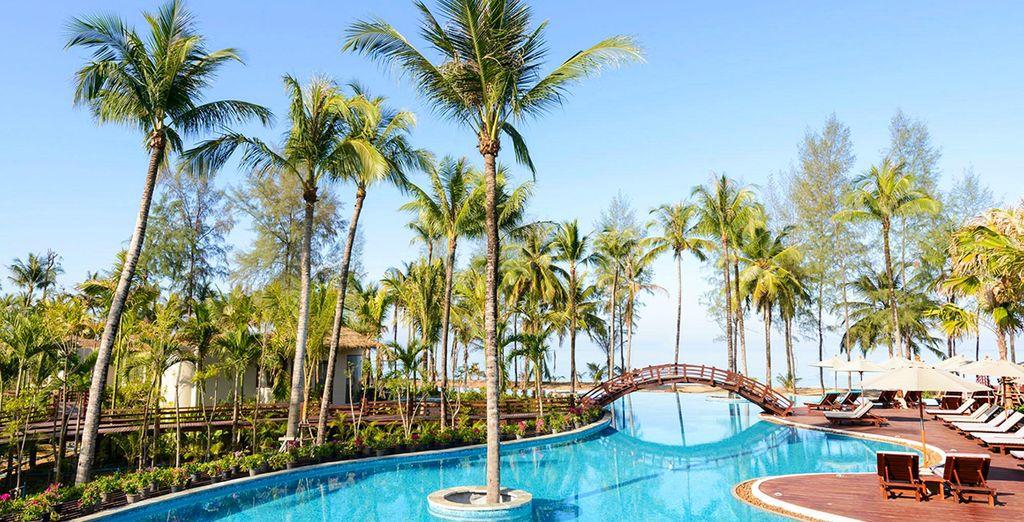 U gaat naar het Khuk Khak Beach, één van de mooiste stranden van Thailand!