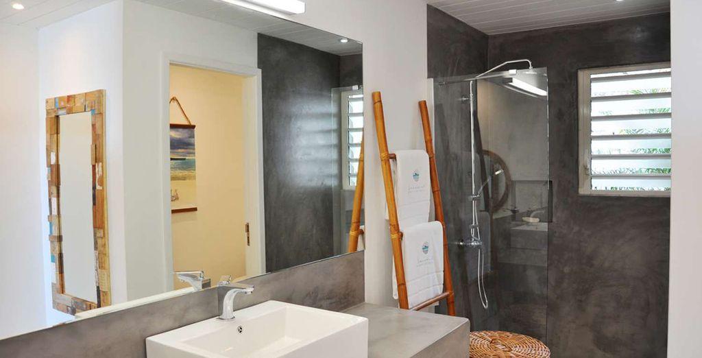 Grote en comfortabele badkamers