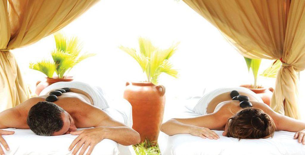 U kunt genieten van een gratis massage van maar liefst 45 minuten!