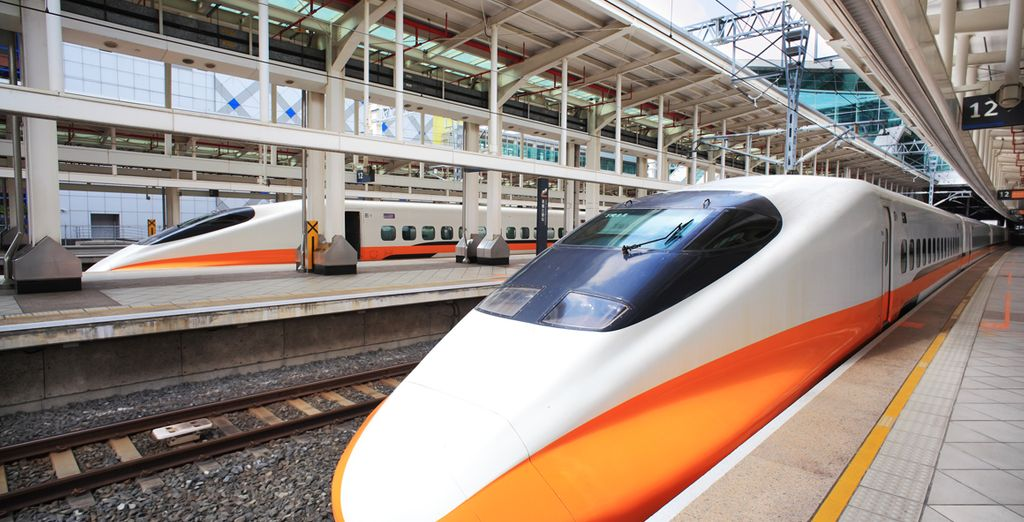 Gebruik de shinkansen
