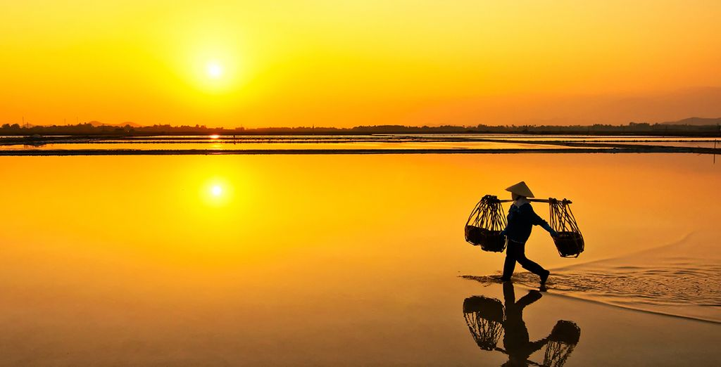 In het adembenemende Vietnam